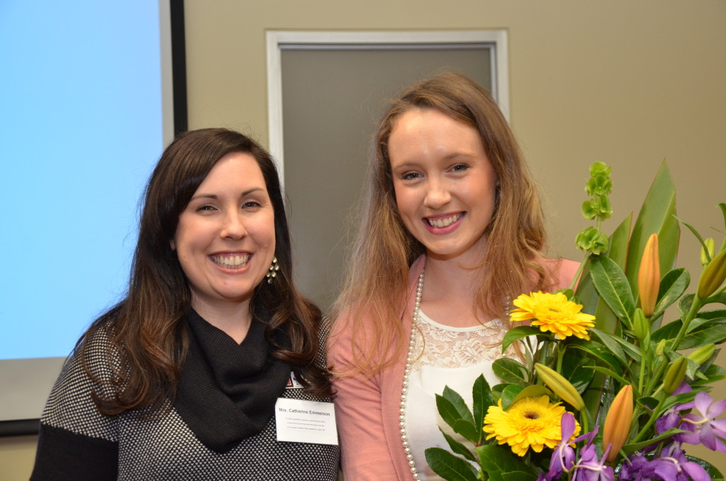 JLTASA Life Member 2014 Catherine Emmerson (Left) with Skye Baldacchino (Right)